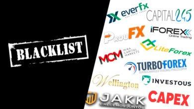 Photo of Black List de Broker Forex| Estafas Forex black list Black List de Broker Forex| Estafas Forex blacklist 390x220