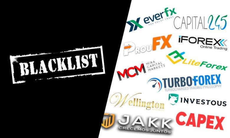 Estafas Forex | Black List black list Black List de Broker Forex| Estafas Forex blacklist 780x470